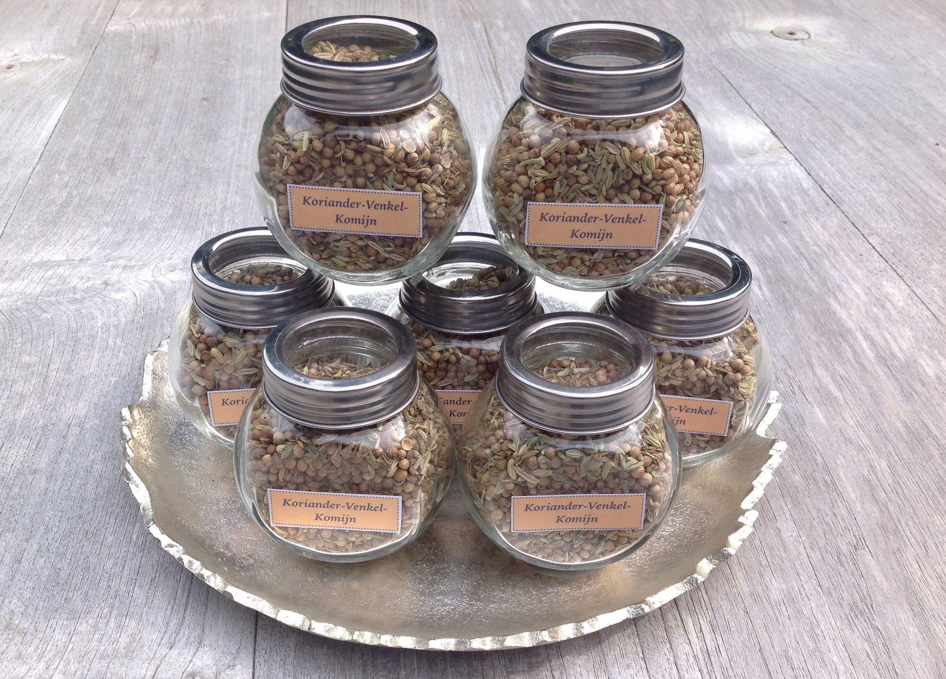 Koriander-Venkel-Komijn thee