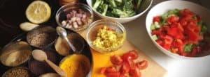 Genieten van gezonde voeding