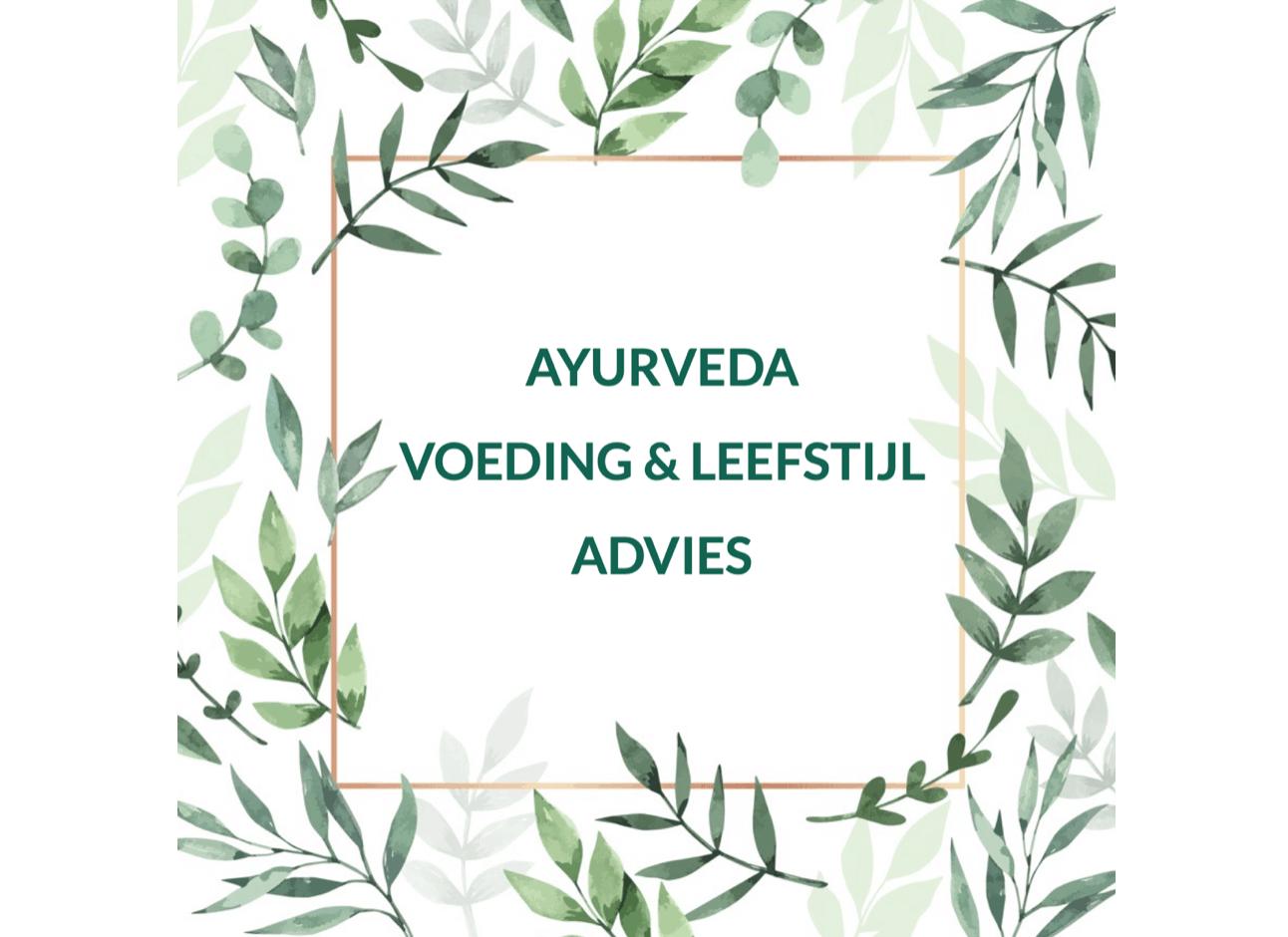 Ayurveda voeding & leefstijl advies bij Huis van Bewust-Zijn